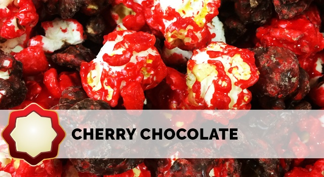 Sweet Cherry covered with a rich Dark Chocolate